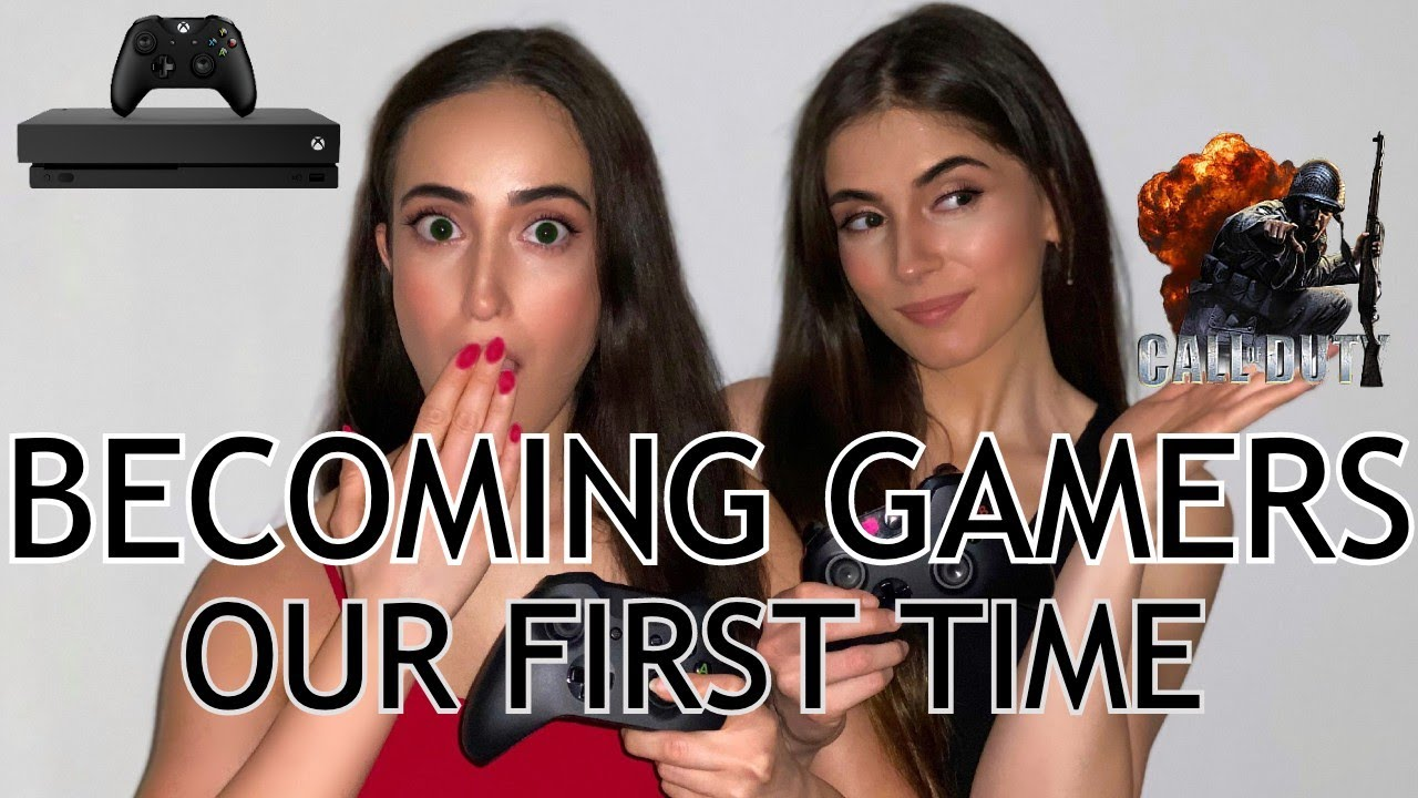 OUR FIRST TIME GAMING... OMG!