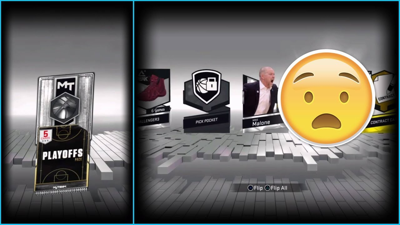 myteam how to reset pack and playoffs