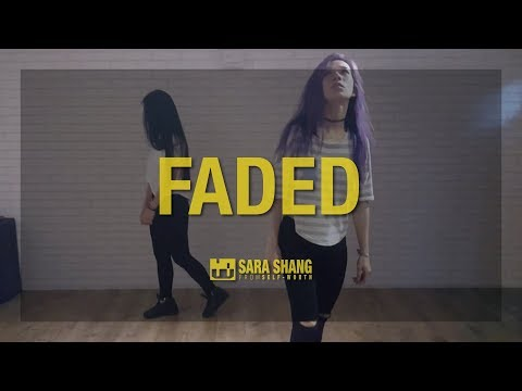 Alan Walker - Faded Dance Practice Mirro Version / Choreography by Sara Shang (SELF-WORTH)