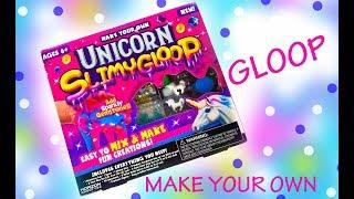 UNICORN GLOOP SLIME - Make Your Own Magical Glitter Slime - Fun Craft Kit for kids