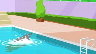 rat a tat   chotoonz kids cartoon videos   poolside fun