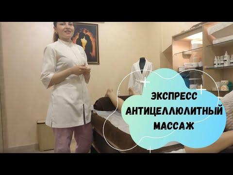 Антицеллюлитный Массаж бёдер и ягодиц банками - Правильная техника, Anticellulite massage, anti-cell