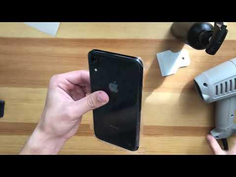 Полиуретановая пленка 360 на IPhone XR