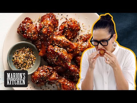 Slow-cooker Chicken Wings With Sticky Asian BBQ Sauce | Marion's Kitchen