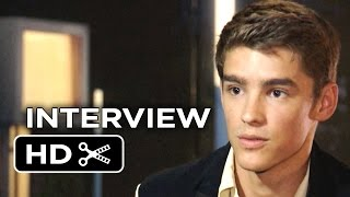 The Giver Interview - Brenton Thwaites (2014) - Sci-Fi Thriller HD