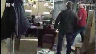 Полицейские ликвидировали цех по производству пиратских дисков