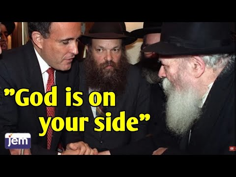 NYC Mayor Rudy Giuliani visits the Rebbe - G-d is on Your Side