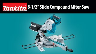 "MAKITA 8-1/2"" Slide Compound Miter Saw Thumbnail"