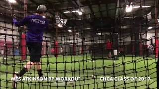 Wes Atkinson Baseball: BP Workout, Spring 2018 (30)