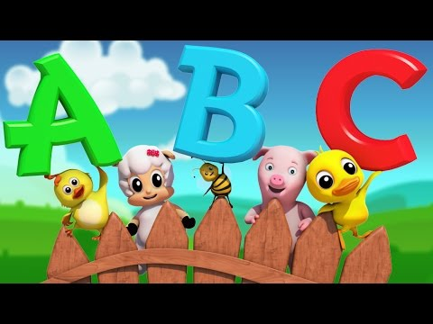 abc Song | nursery rhymes | Farmees | Baby Song