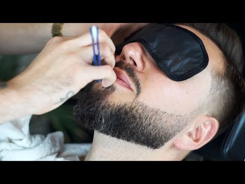 How To Trim a Beard | Barber Tutorial
