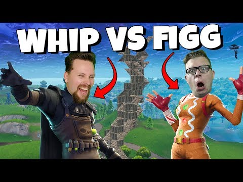 WHIPPIT VS FIGGEHN I FORTNITE *Playground* INGEN FALL DAMAGE