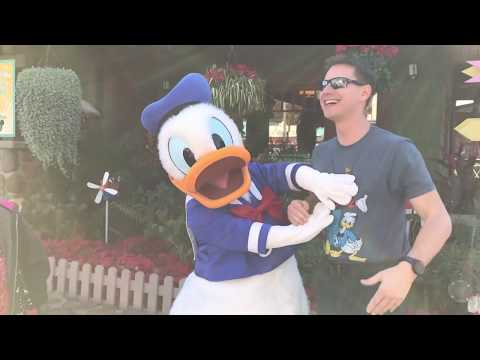 Donald Duck is the Number ONE character at Disney World! Just ask Him! Happy Birthday!