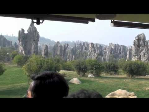 Spring City and Stone Forest Golf Courses, Kunming China