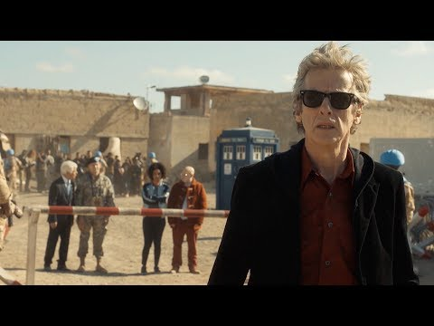 Peter Capaldi & Pearl Mackie Introduce The Pyramid At The End Of The World - Doctor Who: Series 10
