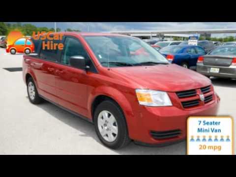 US Car Hire 7 Seater Minivan