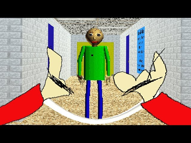 PLAY AS PLAYTIME | Baldis Basics in Education and Learning ROBLOX (NEW)