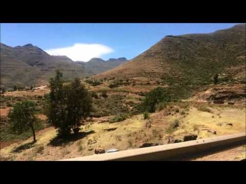 Traveling Through Lesotho