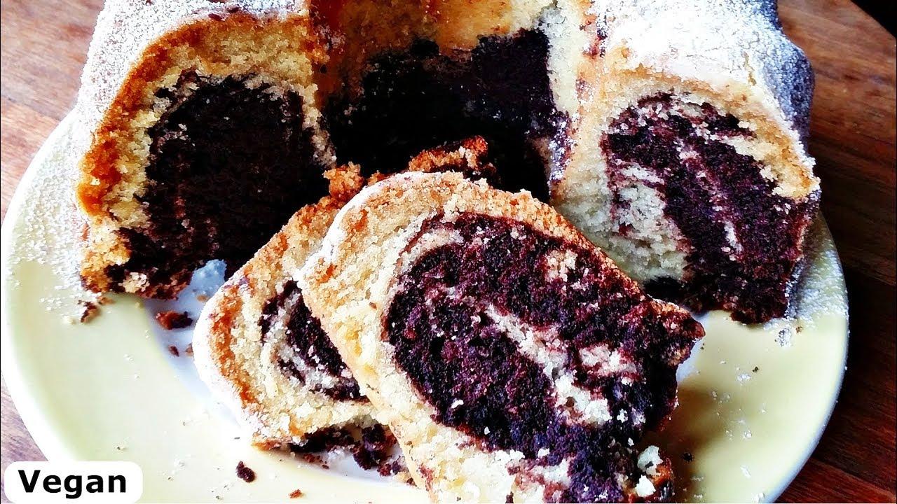 Rezept Marmorkuchen Vegan Locker Und Saftig Marble Cake Youtube