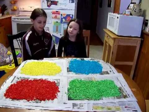 how to make colored craft rice easy and fun crafts with kids youtube