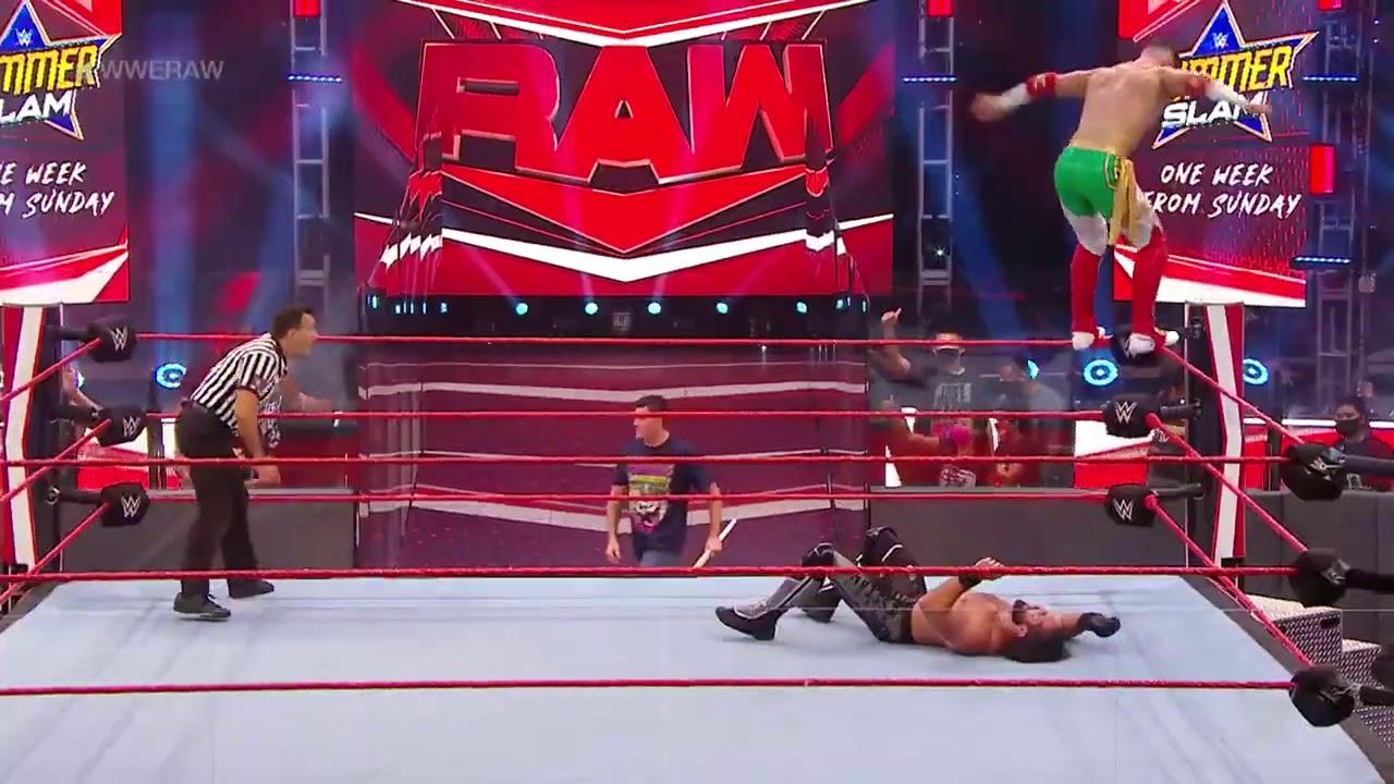 Download Seth rollins vs Humberto Carrillo, seth rollins et Murphy brutalize Dominick Mysterio