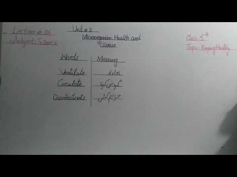 class-five- -science- -lecture-6