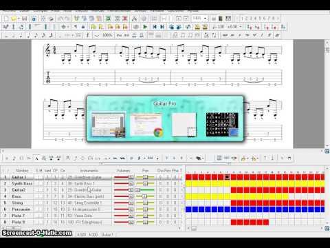 Convertir Guitarpro a mp3 (.gp5 to mp3)