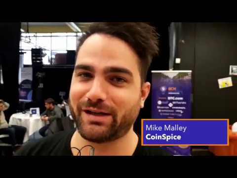 Interview Mike Malley Of CoinSpice About Bitcoin Cash | BCH HACKATHON