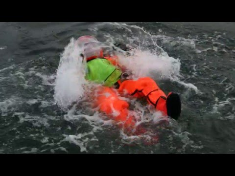 Sea Arctic self righting survival suit by Hansen Protection