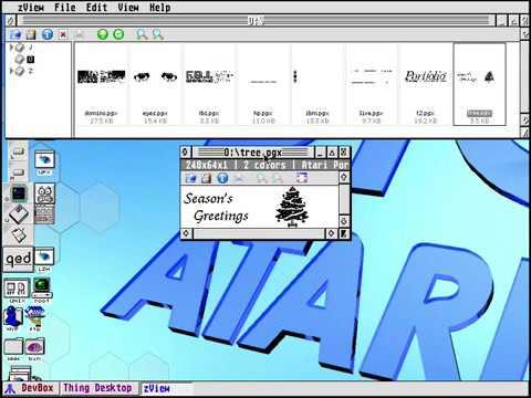 Atari Portfolio animation codec for zView (updated)