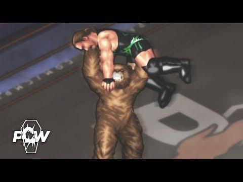 BIG BEAR DEBUT! PCW BURY ME SOFTLY BROTHER (Fire Pro World WWE - NJPW - TNA) | Round 2 Part 2