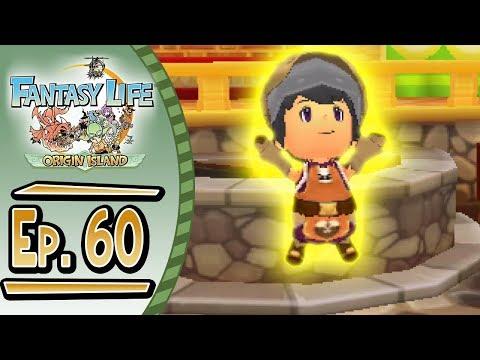 Fantasy Life - Origin Island :: # 60 :: GOD BLACKSMITH!!!