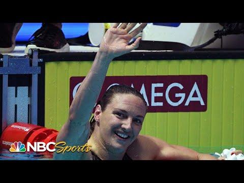 Katinka Hosszu hangs on for 200 IM  World Swimming Championships 2019  NBC Sports