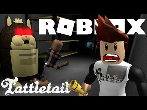 THIS IS CREEPY!!! Tattletail In Roblox - RUN AWAY!!!
