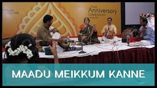 Aruna Sairam - Maadu Meikkum (Bharatiya Vidya Bhavan 1st Anniversary Celebration 2012)