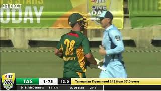 Tasmania v New South Wales - JLT Cup 2017