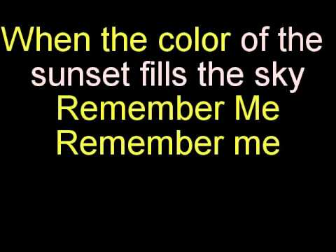 Remember Me Karaoke