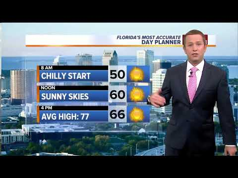 Florida's Most Accurate Forecast with Jason on Thursday, March 22, 2018