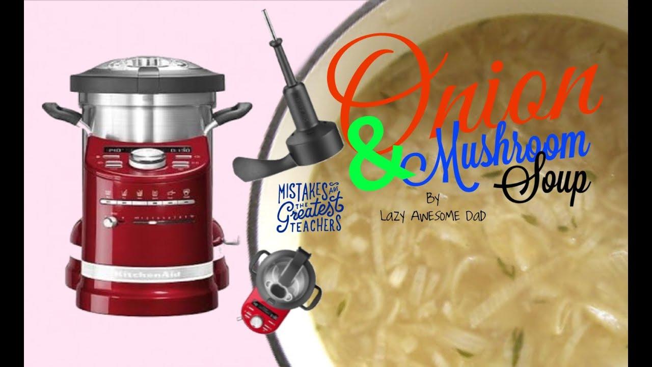 Kitchenaid Cook Processor Artisan Onion Soup With Mustard Recipe