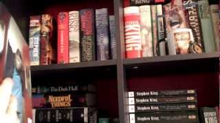 Book Shelf Tour (april 2012 Update) Sections 21-25 - The Stephen King Books
