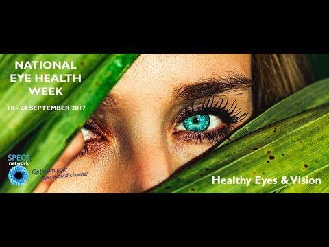 National Eye Health Week 2017