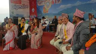 दोरोरी ब्याटल  Dodori Battle Prakash Saput and Shantishree Pariyar, Live Dohori 2018