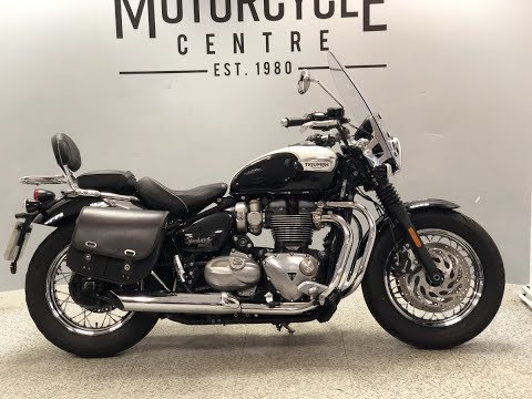 Triumph Bonneville Speedmaster 1200 For Sale At Hastings Motorcycle Centre