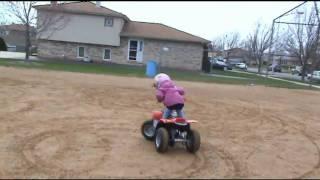 Haileys New 4 Wheeler ATV