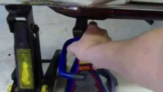 How To Lift A Motorcycle Using Homemade Tools