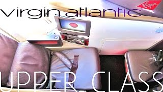 Virgin Atlantic UPPER CLASS - San Francisco to London - FULL TRIP REPORT, Boeing 747-400