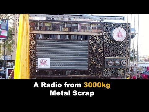 A Radio from 3000Kg of Metal Scrap | Kabaad Se Jugaad