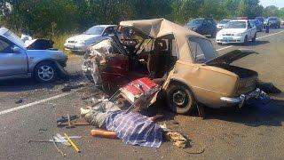 Аварии на дорогах. Бесконечные аварии на дорогах