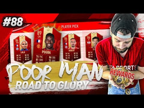 FRENCH INFORM WALKOUT and RED INFORM PLAYER PICK PACKS!! - POOR MAN RTG #88 - FIFA 19 Ultimate Team