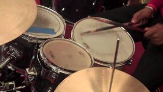How To Play Reggae Drums Lesson # 3 - Steppers